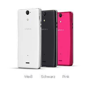 Sony Xperia V Smartphone 4,3 Zoll schwarz: Elektronik