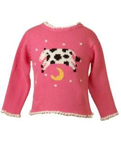 Mulberribush Cow Jumped Over the Moon Sweater
