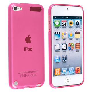 BasAcc Pink TPU Rubber Skin Case for Apple® iPod touch Generation 5