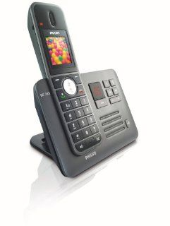 Philips SE7451B/02 Schnurloses DECT Telefon schwarz