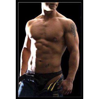 Männer   Poster   Sixpack Jeans Boy + Wechsel Rahmen Maxi aus