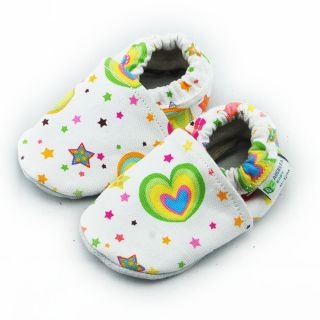 Rainbow Hearts Infant Girls Shoes