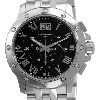 Raymond Weil Mens Tango Stainless Steel Chronograph Watch
