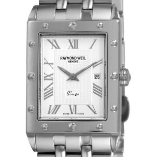 Raymond Weil Mens Tango Stainless Steel Bracelet Watch