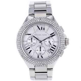 Michael Kors Womens Bella Crystal accented Watch Today $285.69 4.3