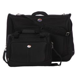 American Tourister Family Traveler Black 5 piece Luggage Set
