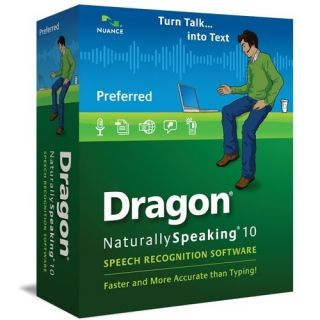 Nuance Dragon NaturallySpeaking v.10.0 Preferred
