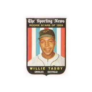 1959 Topps #143 Willie Tasby RS RC   EX MT Collectibles