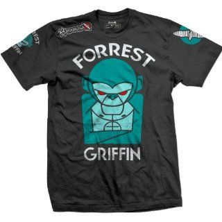 Forrest Griffin UFC 148 Walkout MMA T shirt   Black Sports & Outdoors