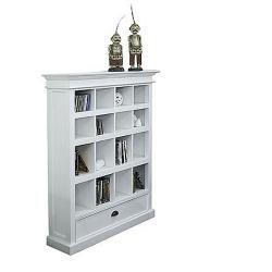 Interior White Bookcase