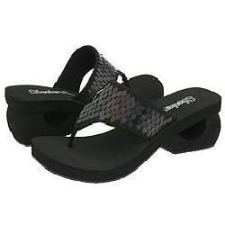 Skechers Spinners grab Black Sequins(Size 6 M)