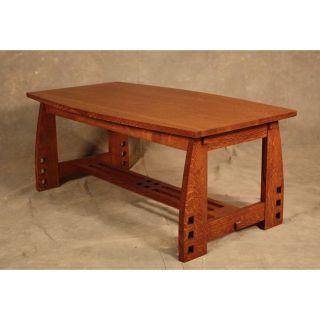 Wood Revival Mission Coffee Table