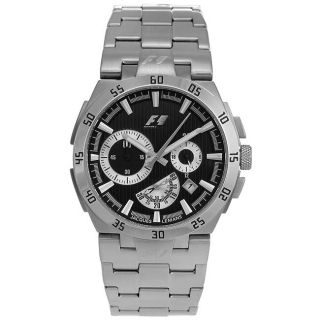 Jacques Lemans Mens Chronograph Formula 1 Stainless Steel Watch