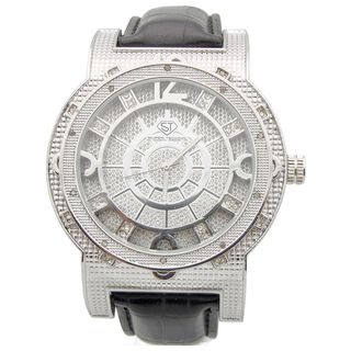 Joe Rodeo Mens Super Techno Diamond accented Watch