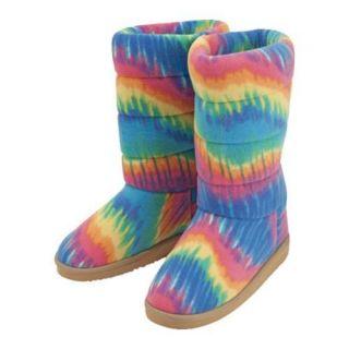 Childrens Beeposh Rainbow Boot Slippers Rainbow Today $29.95
