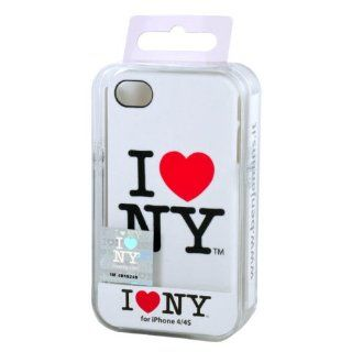 love New York Hard Case für Apple iPhone 4S weiß