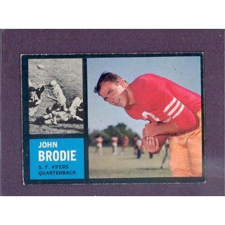 1962 Topps #152 John Brodie 49ers (EX/MT) Collectibles
