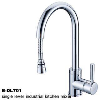 Chrome Faucet with Hose Attachment