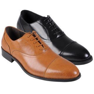 Oxford & Finch   Zapatos Oxford de hombre, cuero, con cordones