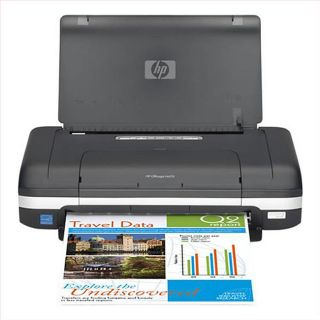HP OfficeJet H470 Mobile InkJet Printer (Refurbished)