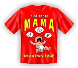Shirt Eine echte Mama braucht keinen Schlaf Sport