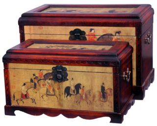 Galloping Horses Storage Boxes (China)
