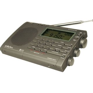 Eaton E10 AM/FM Shortwave Radio Digital Clock Alarm Portable Radio