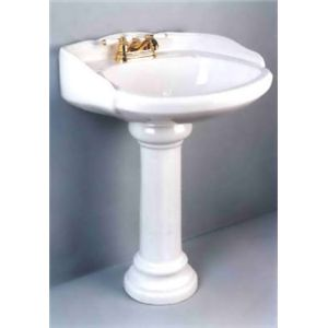 Jameco International Llc K 1122 White China Pedestal Basin