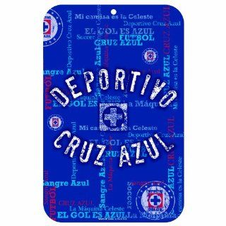 MLS Club Deportivo Cruz Azul 11 by 17 Inch Sign: Sports