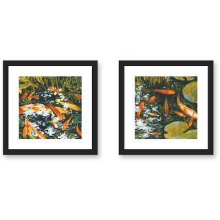 St. John Koi Framed Art Print Set