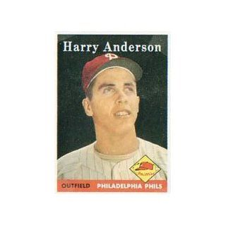 1958 Topps Regular (Baseball) Card# 171 Harry Anderson of