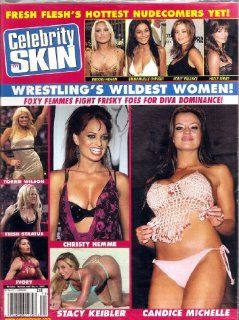 CELEBRITY SKIN MAGAZINE #171 WWE: HIGH SOCIETY MAGAZINE: Books