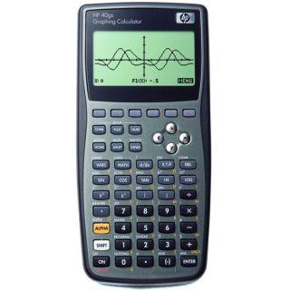 HP F2225AA 40GS Algebra Mathematical Scientific Graphing Calculator