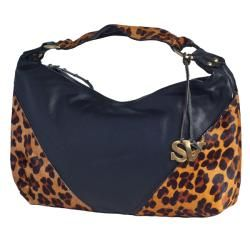 Sophia Visconti Medium Leather Hobo Bag