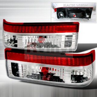 Toyota Corolla 1983 1984 1985 1986 198 Altezza Tail Lights   Clear Red