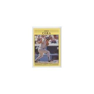 Joey Cora San Diego Padres (Baseball Card) 1991 Fleer #527