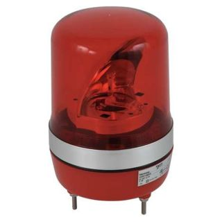 Schneider Electric XVR10B04 Warning Light, Rotating Mirror LED, Red