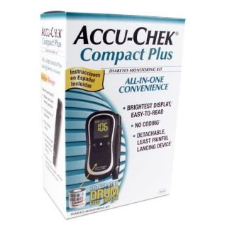 Accu Chek Compact Plus Blood Glucose Monitor Kit