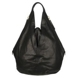 Givenchy Medium Tinhan Black Leather Hobo Bag