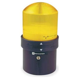 Schneider Electric XVBL4M8 Warning Light, Yellow, 48 to 230VAC