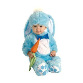 Baby Blue Bunny Costume   Infant 6 12 mths Toys & Games