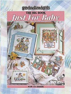 Big Book Just for Baby   Cross Stitch Pattern: 0028906245073:
