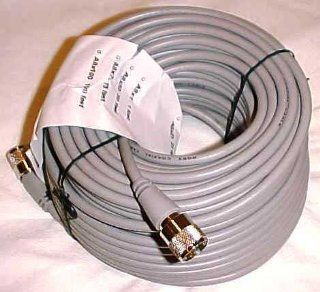 100 ft RG8X COAX CABLE CB / Ham Radio w/ PL259 Con