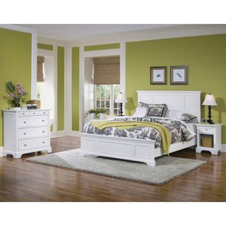 Home Styles Naples Queen Bed Night Stand and Chest