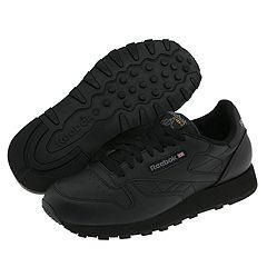 Reebok Lifestyle Classic Leather   Mens Black