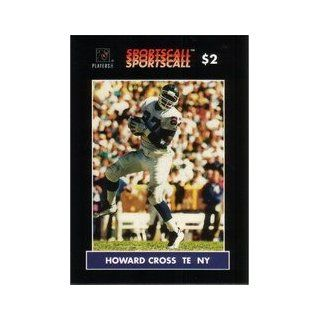 Howard Cross (TE New York Giants Football) Card #257 Everything Else