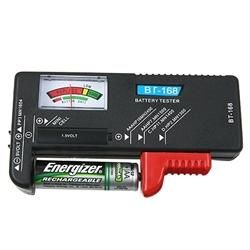 Universal AA/ AAA/ Coin Cell Battery Tester