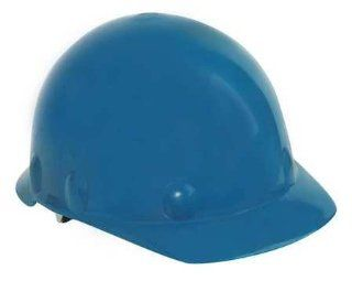 FIBRE METAL SE271A000 Hard Hat, Front Brim, G, Ratchet, Blue