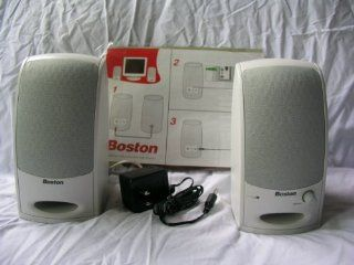 Boston Acoustics BA 265 Computer Speakers Computers