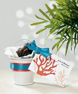 Garden Wedding Favors   Mini Metal Pails   Spring Wedding
